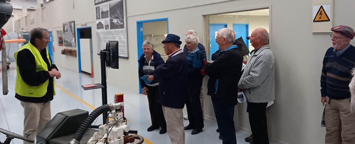 Pioneer Aero Ltd visit and the NZ War Birds tours