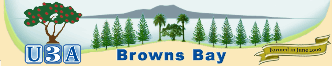 U3A Browns Bay Inc formed in June 2000
